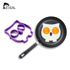 Creative Egg Moulds Lovely Breakfast Silicone Mould Cooking Tools Owl – UrbanLifeShop