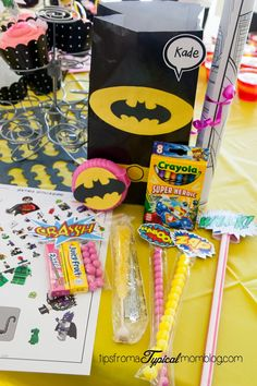 Superhero Girl Birthday Party Ideas and Free Printables - Tips from a Typical Mom