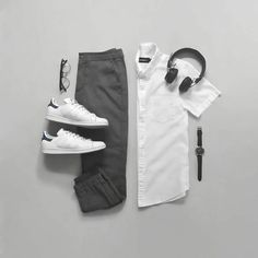 bowling outfit date Stylish Mens Outfits, Casual Outfits, Men Casual, Fashion Outfits, Wednesday Outfit, Mode Man, Moda Blog, Men With Street Style, Men Street