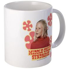 The Brady Bunch: Jan Brady Mug on CafePress.com - Image of Jan Brady featuring the text middle child syndrome.