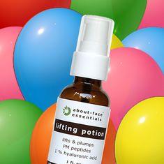 Now with Alpha Lipoic Acid! Gotu Kola, Yeast Extract, Alpha Lipoic Acid, Textures And Tones, Hyaluronic Acid, Perfume Bottles, Skincare, Vegan, Skincare Routine