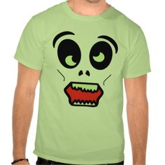 Ghastly Zombie Face Shirt