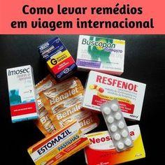 Para levar remédios em viagem internacional é preciso seguir algumas regras. Seja na quantidade, na embalagem ou nas prescrições médicas, fique atento para não correr o risco de deixar medicações importantes no aeroporto.