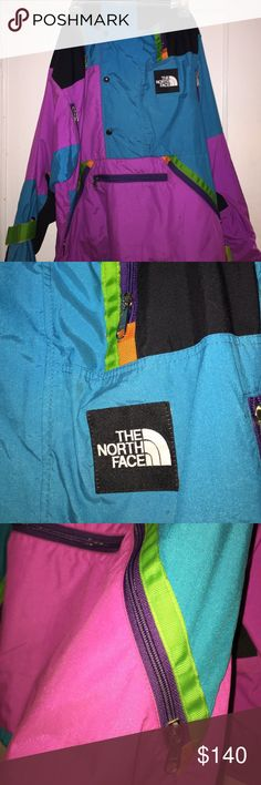 North Face Vintage 90's Windbreaker Great condition. This was released in the 90's. Extremely rare. You won't find this any where else... North Face Jackets & Coats Windbreakers