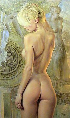 Yuri Yarosh   Belarusian Figurative Painter   1969