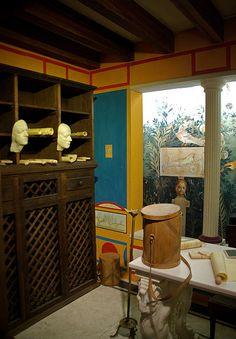 Tablinum o despatx d'una domus romana, Romanorum Vita   Flickr - Photo Sharing!