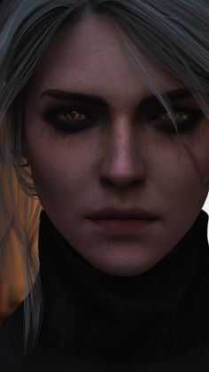 The Witcher Art, Ciri Witcher, The Witcher Wild Hunt, The Witcher Books, Fantasy Characters, Female Characters, Character Inspiration, Character Art, Pixiv Fantasia