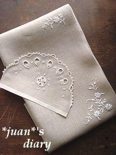 白糸刺繍×2 001