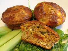 Very healthy and tasty recipe Savory cucumber-feta muffins Healthy Foods To Eat, Healthy Cooking, Raw Vegan Recipes, Healthy Recipes, Feta, Vegetarian Menu, Protein, Good Food, Yummy Food