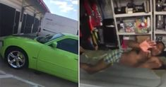 Chick Goes Off On The Man She's Dating After She Found Out He Lives In A Storage Unit But Has A Nice Car!