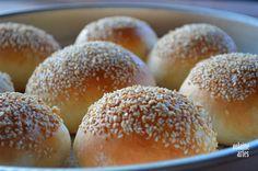 Pão de Hamburguer Caseiro