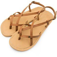 Volcom Tavira Women's Sandals - Tan