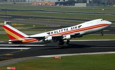 All Airlines News: Kalitta Air Boeing 747-200 One of the last airwort...