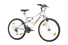 26 inches, CoollooK, EXTREME, Unisex, Mountain Bike, Full Suspension Frame, 18 speeds, Tires MACH1