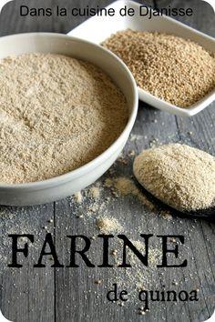 Liste et propriétés de farines sans gluten