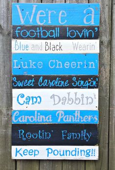 Hand Painted Reclaimed Pallet Wooden Carolina by SeasideRelics