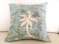 Outdoor Cushions Outdoor Pillows Hawaiian by IslandHomeEmporium