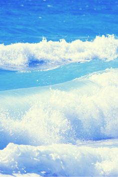 Serenity Of The Ocean Waves Rolling In ~ Day Or Night!