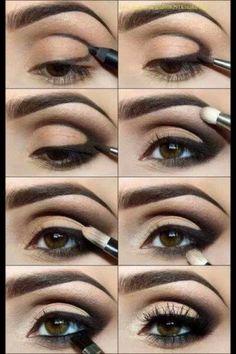 Natural Make-Up for brown eyes!
