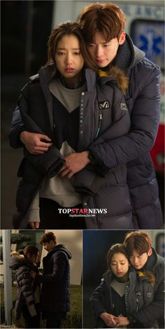 """'Pinocchio' Lee Jong-seok - Park Shin Hye, surprise 'back hug """"confession."""" So cold, cold """"by heart and repeated - TOPSTARNEWS.NET"""