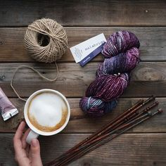 malabrigo coffee latte yarn knitting perfection