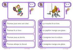 IPOTÂME ....TÂME: Atelier de lecture compréhension de phrases