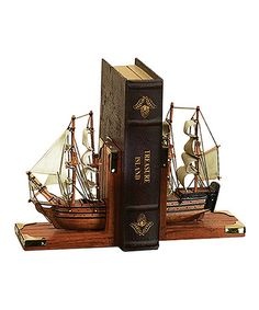 Take a look at this Nautical Bookend Set by UMA Enterprises on #zulily today!