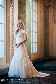 Regal Elegance - Modest Wedding Gown #themodestbride http://www.pinterest.com/modestbride/boards/