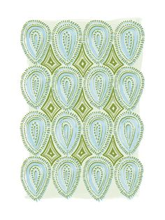 Painted Oval Pattern Wall Art Prints by Alethea and Ruth | Minted