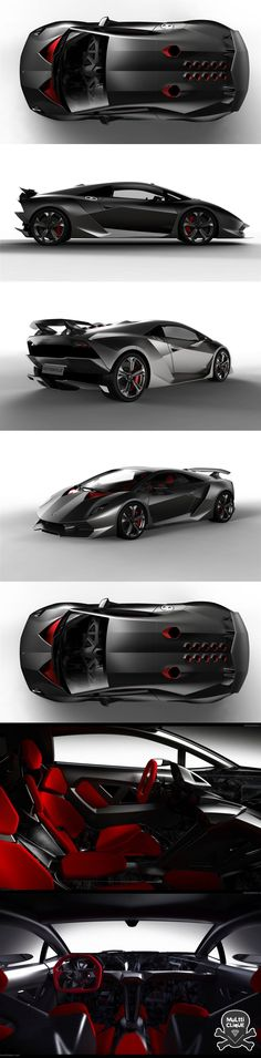 Lamborghini Sesto Elemento, Sixth Element = Carbon