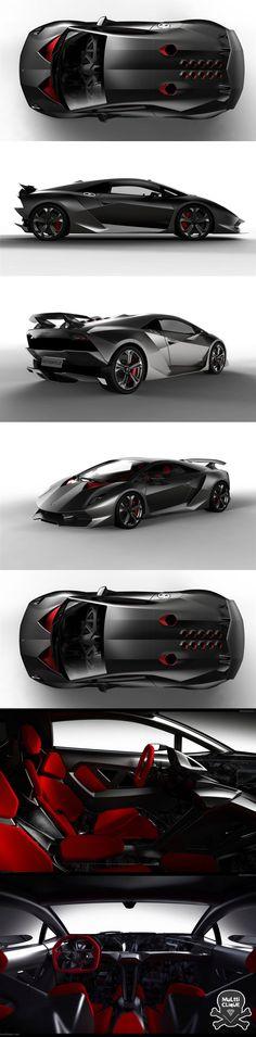Lamborghini Sexto Elemento