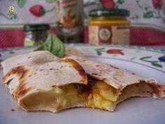 Quanta Gordice: Wrap de queijo Brie e balsâmico cremoso!!!
