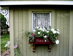 Pretty Garden Shed   next spring, we are building a bigger garden shed here, at our new ...