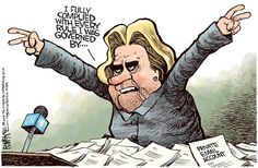 Hillary Clinton Email Political Cartoons | CAFFEINATED POLITICS
