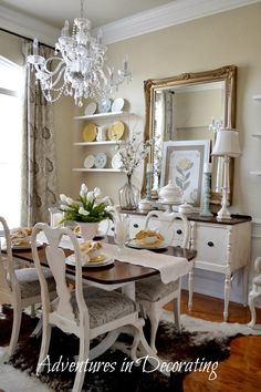 Vintage French Soul ~ Adventures In Decorating: Our Refreshed Dining Room
