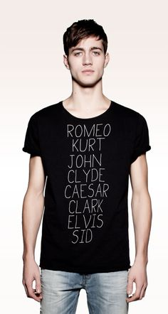 just love - limited edition tees by pull and bear.