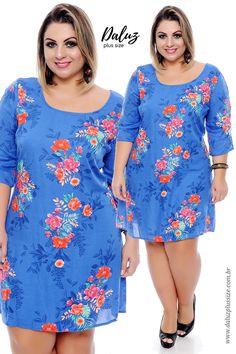 Vestido Plus Size Melaine -  Coleção Vestidos Plus Size - @daluzplussize