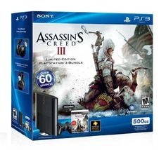 PlayStation 3 500GB Assassin's Creed III Bundle by Sony, http://www.amazon.com/dp/B0050SWQ86/ref=cm_sw_r_pi_dp_IDIarb1CM995V
