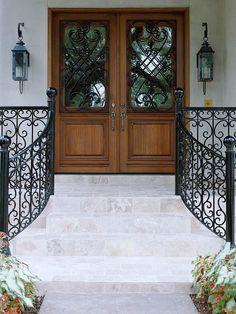 Wrought-Iron Entrance