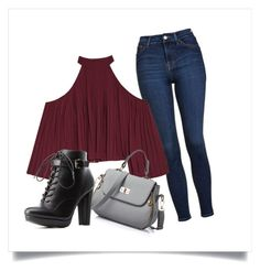 """""""Every day"""" by dogarlekin on Polyvore featuring moda, Topshop, W118 by Walter Baker i Charlotte Russe"""