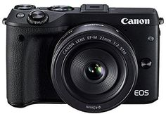 Introducing Canon EOS M3 with 22mm f20 Prime STM Lens Black  International Version No Warranty. Great product and follow us for more updates!