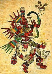 Mitología Olmeca: La serpiente emplumada  a figura mitológica de la serpiente emplumada representada constantemente en Mesoamérica probablemente fue originada en la época de los Olmecas. En tradiciones posteriores el Quetzal o serpiente emplumada fue conocido como el inventor de los libros y calendarios, el dador del maíz a la humanidad, y algunas veces como símbolo de muerte y resurrección, frecuentemente asociado al planeta Venus.