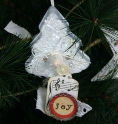 Tin Cookie Cutter Ornament