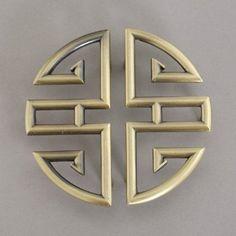 Antique Chinese Bronze Handle Chinese Handle Cabinet Door Handles Circularly Symmetric - Amazon.com