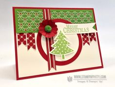 Stampin up card -christmas