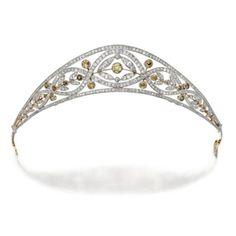 1910 Diamond Bandeau