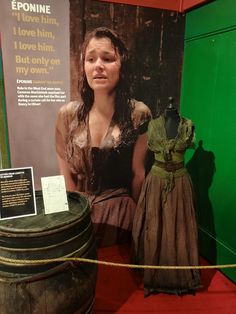 Costume, consisting of a corset, skirt, shawl, and belt. Worn by Samantha Barks as Eponine in the film adaption of the Broadway musical Les Miserables, based on the novel by Victor Hugo. Costume design by Paco Delgado.