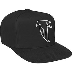 Men's Mitchell & Ness Atlanta Falcons Wool Snapback Structured Adjustable Hat - NFLShop.com