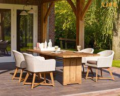Inspirational Dining set Orlando Slide Gartenm bel Kollektion LIFE Outdoor Living