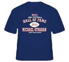 2014 Hall of Fame Michael Strahan T Shirt